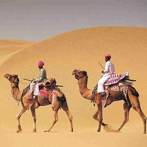 Sand dunes of Sam Jaisalmer