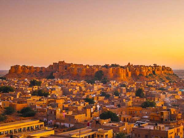 The fort of Jaisalmer